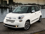 Fiat 500L US-spec (330) 2013 wallpapers