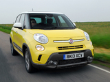 Fiat 500L Trekking UK-spec (330) 2013 wallpapers