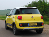 Images of Fiat 500L Trekking UK-spec (330) 2013