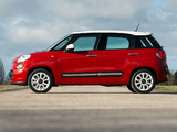 Images of Fiat 500L UK-spec (330) 2013