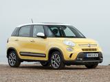 Images of Fiat 500L Trekking UK-spec (330) 2013