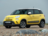 Photos of Fiat 500L Trekking UK-spec (330) 2013