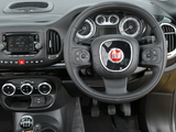 Pictures of Fiat 500L Trekking UK-spec (330) 2013