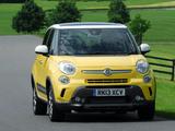 Fiat 500L Trekking UK-spec (330) 2013 wallpapers
