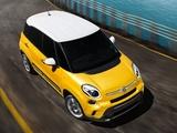 Fiat 500L Trekking US-spec (330) 2013 wallpapers