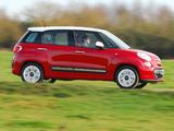 Fiat 500L UK-spec (330) 2013 wallpapers