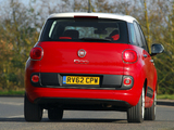 Fiat 500L UK-spec (330) 2013 wallpapers