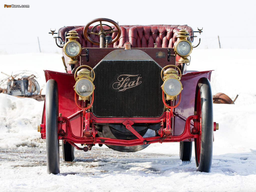 Pictures of Fiat 60 HP Touring by Quinby & Co. 1905 (1024 x 768)