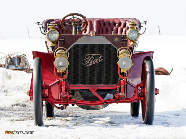 Pictures of Fiat 60 HP Touring by Quinby & Co. 1905 (640 x 480)