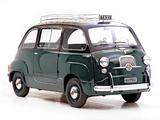 Fiat 600 Multipla Taxi 1956–65 images