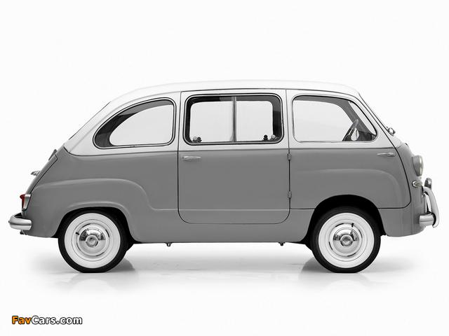 Fiat 600 Multipla 1956–60 images (640 x 480)