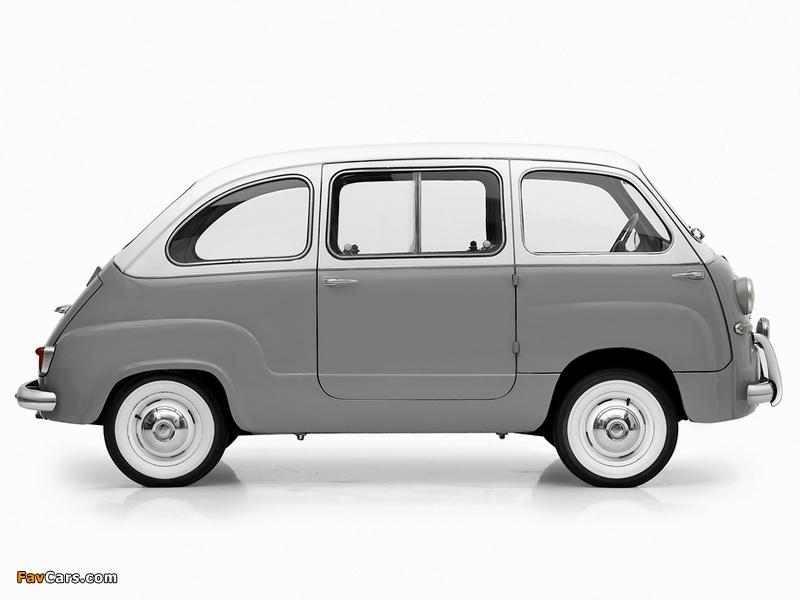 Fiat 600 Multipla 1956–60 images (800 x 600)
