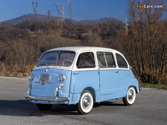 Fiat 600 D Multipla 1960–67 images (640 x 480)