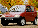 Fiat Seicento UK-spec 2001–04 wallpapers