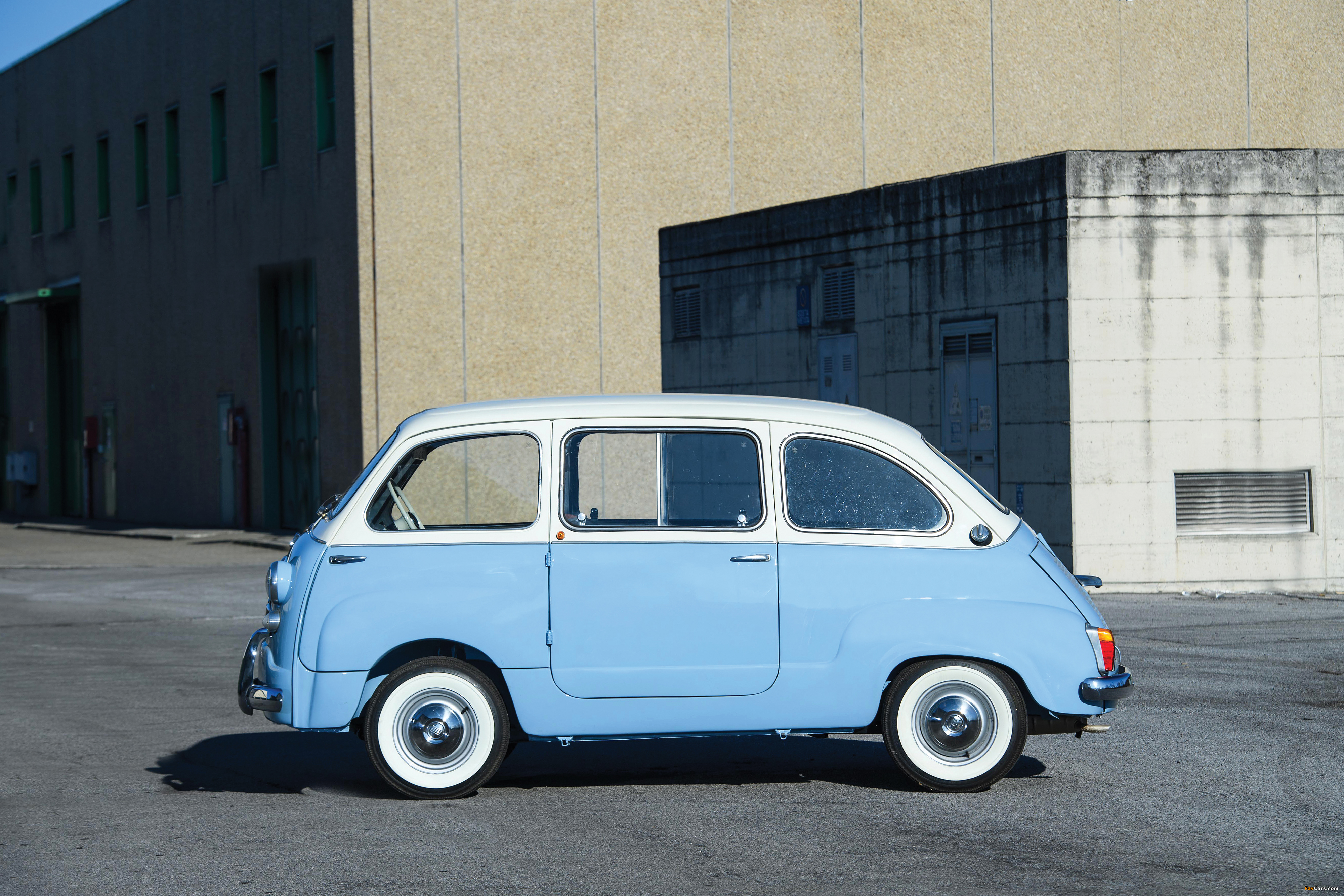 Photos of Fiat 600 D Multipla 1960–67 (4000 x 2667)