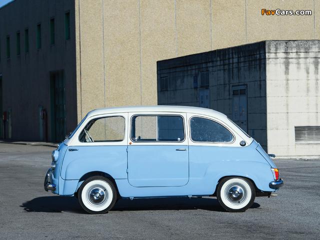 Photos of Fiat 600 D Multipla 1960–67 (640 x 480)