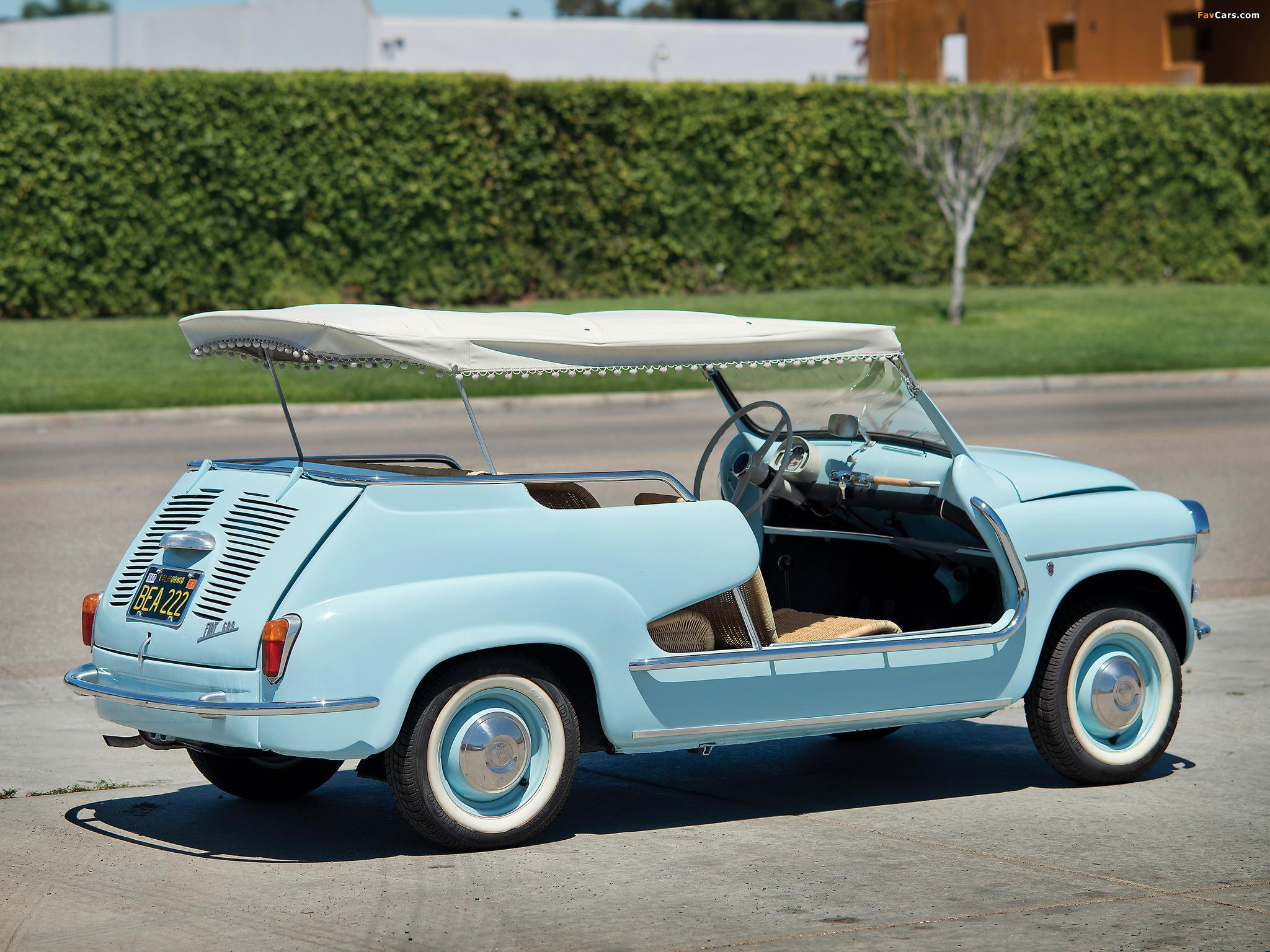 Fiat >> Fiat 600 Jolly 1958–62 wallpapers (2048x1536)