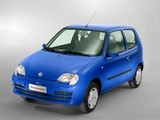 Fiat Seicento 2004–10 wallpapers