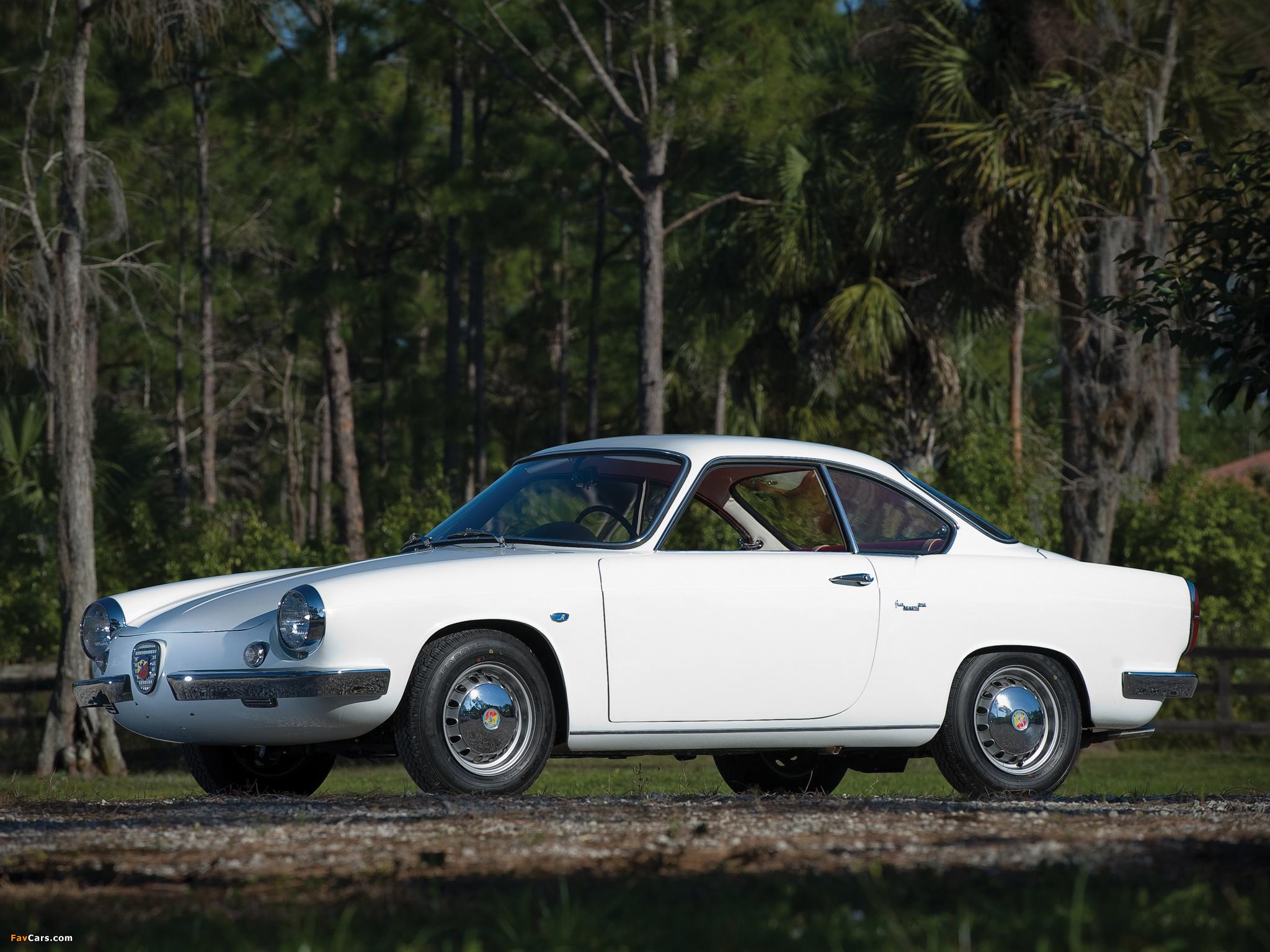 Abarth 850 Coupe Scorpione 1959 60 Photos 2048x1536
