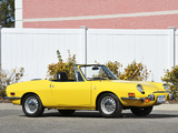 Photos of Fiat 850 Sport Spider US-spec 1968–72