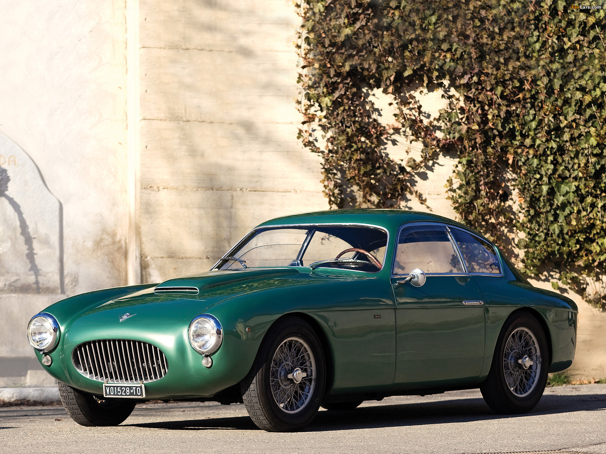 Fiat 8V Berlinetta 1955 wallpapers (2048 x 1536)