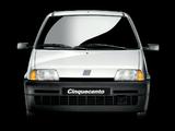 Fiat Cinquecento (170) 1992–98 pictures