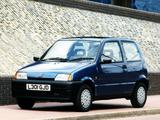 Fiat Cinquecento UK-spec (170) 1993–98 pictures