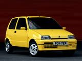 Images of Fiat Cinquecento Sporting UK-spec (170) 1995–98