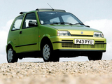 Photos of Fiat Cinquecento Soleil UK-spec (170) 1996–97