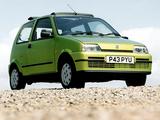 Photos of Fiat Cinquecento Soleil UK-spec (170) 1996–97
