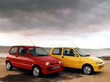 Fiat Cinquecento Sporting UK-spec (170) 1995–98 wallpapers