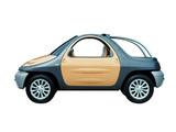 Fioravanti Fiat Nyce Concept 1996 wallpapers