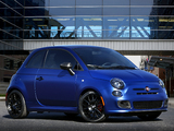 Photos of Mopar Underground Fiat 500 Carbon Concept 2011