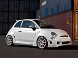 Zender Abarth 500 Corsa Stradale Concept 2013 wallpapers