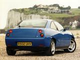 Coupé Fiat UK-spec 1995–2000 pictures