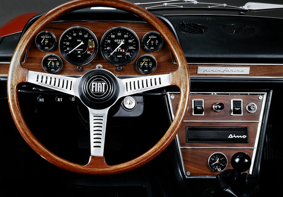 Pictures Of Fiat Dino Spider 2400 196972