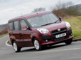 Fiat Doblò UK-spec (263) 2010 photos
