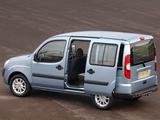 Images of Fiat Doblò Panorama UK-spec (223) 2005–09