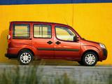 Fiat Doblò Panorama (223) 2005 wallpapers