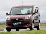Fiat Doblò UK-spec (263) 2010 wallpapers