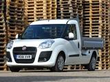 Fiat Doblò Work Up UK-spec (263) 2011 wallpapers