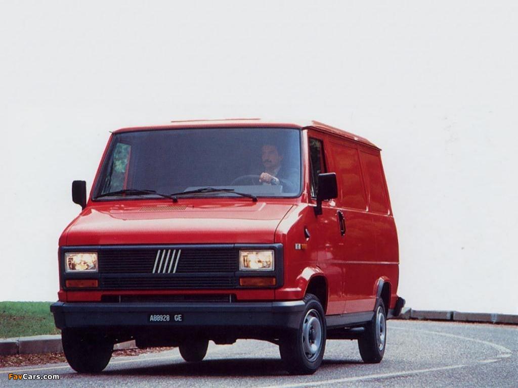 Fiat Ducato Van 1981–89 photos (1024 x 768)