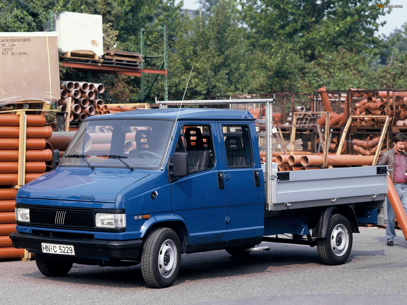 Fiat Ducato Dual Cabine Pickup 1989–94 images (1600 x 1200)