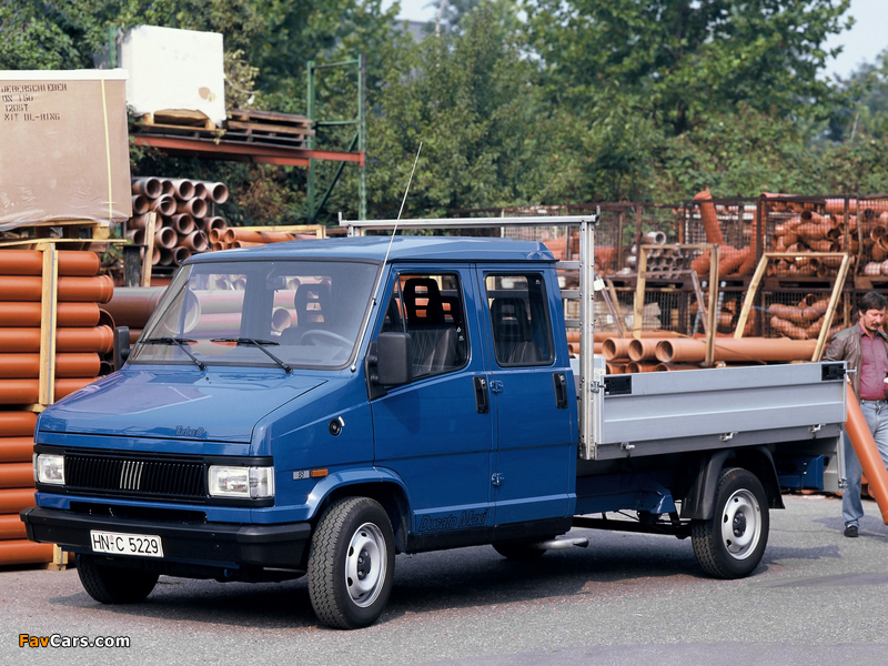 Fiat Ducato Dual Cabine Pickup 1989–94 images (800 x 600)
