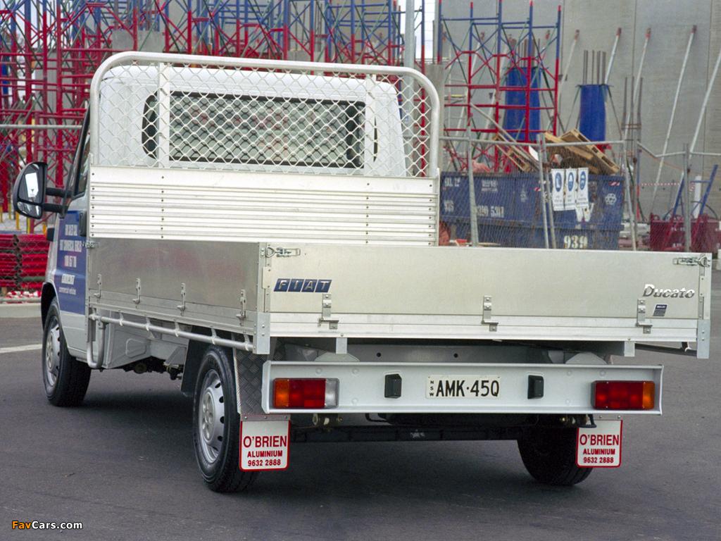Fiat Ducato Pickup AU-spec 2002–06 pictures (1024 x 768)