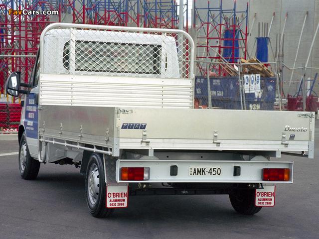 Fiat Ducato Pickup AU-spec 2002–06 pictures (640 x 480)