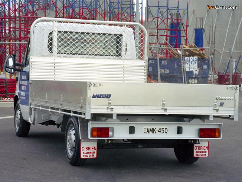 Fiat Ducato Pickup AU-spec 2002–06 pictures (800 x 600)