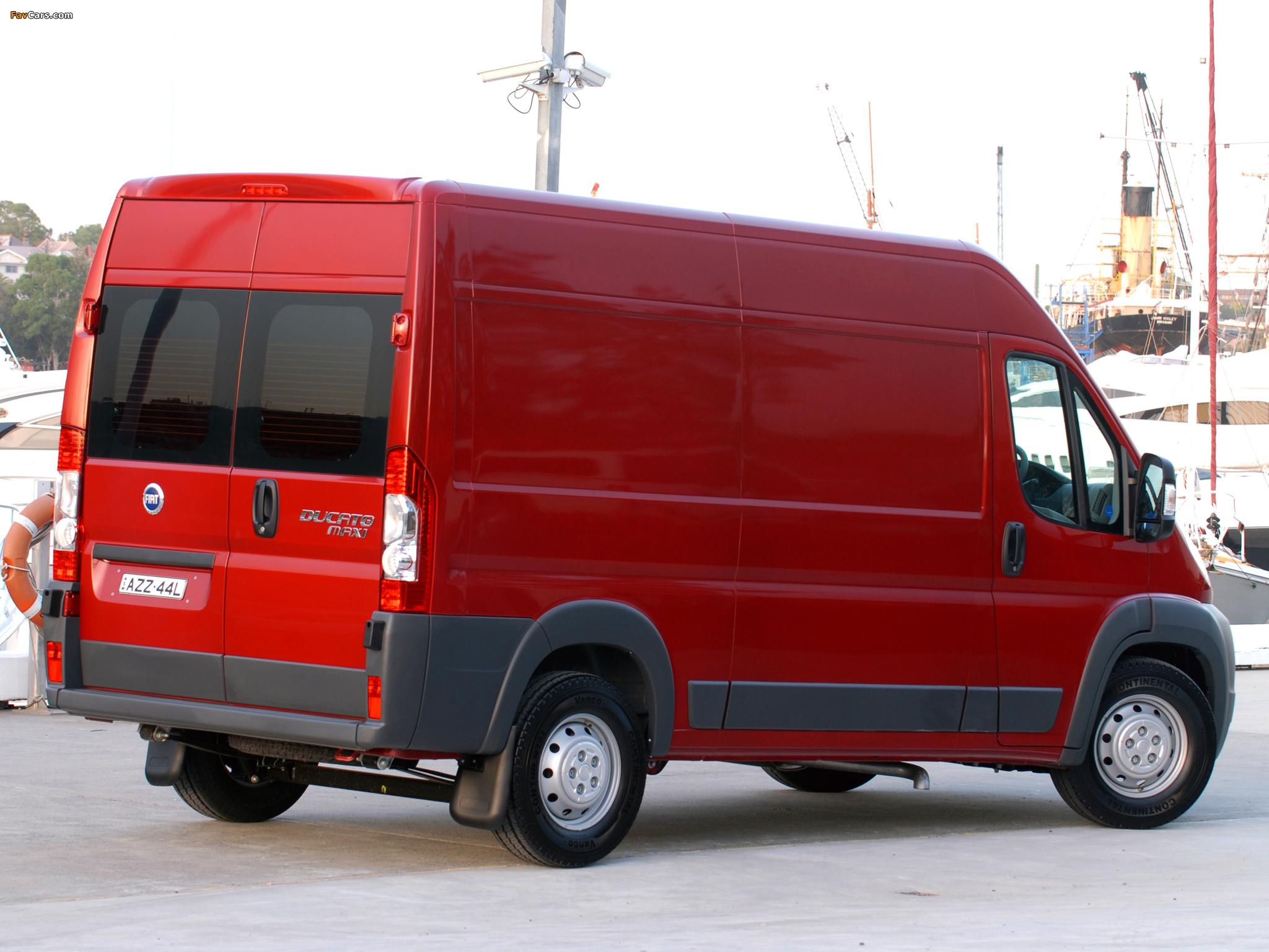 Fiat Ducato Van AU-spec 2006 images (2048 x 1536)