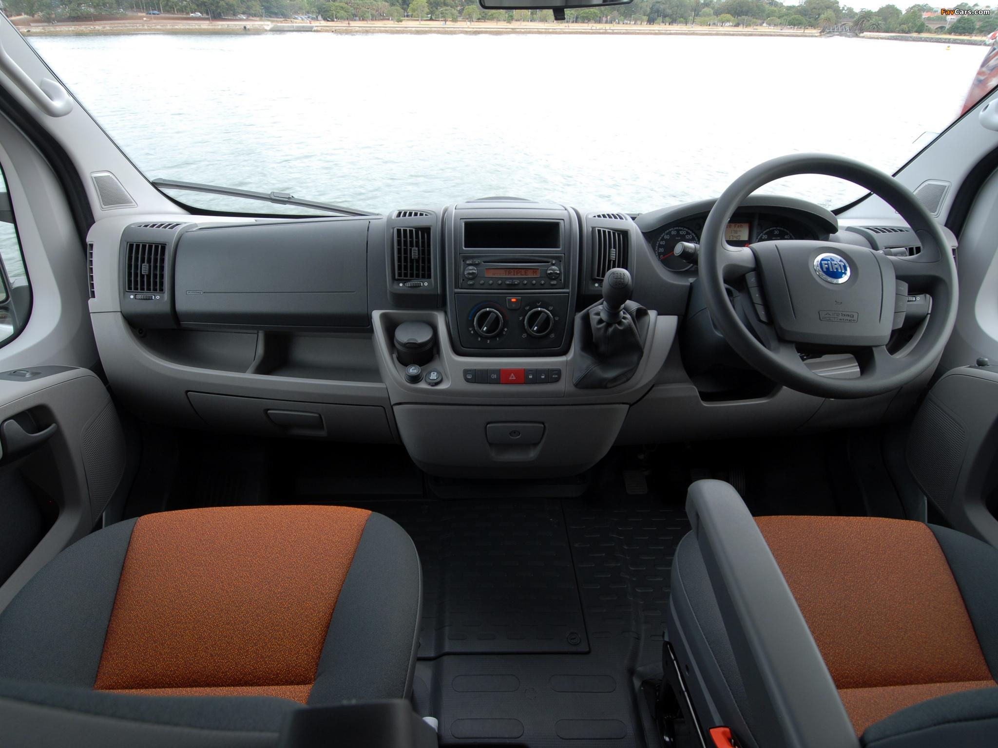 Fiat Ducato Van LWB AU-spec 2006 images (2048 x 1536)