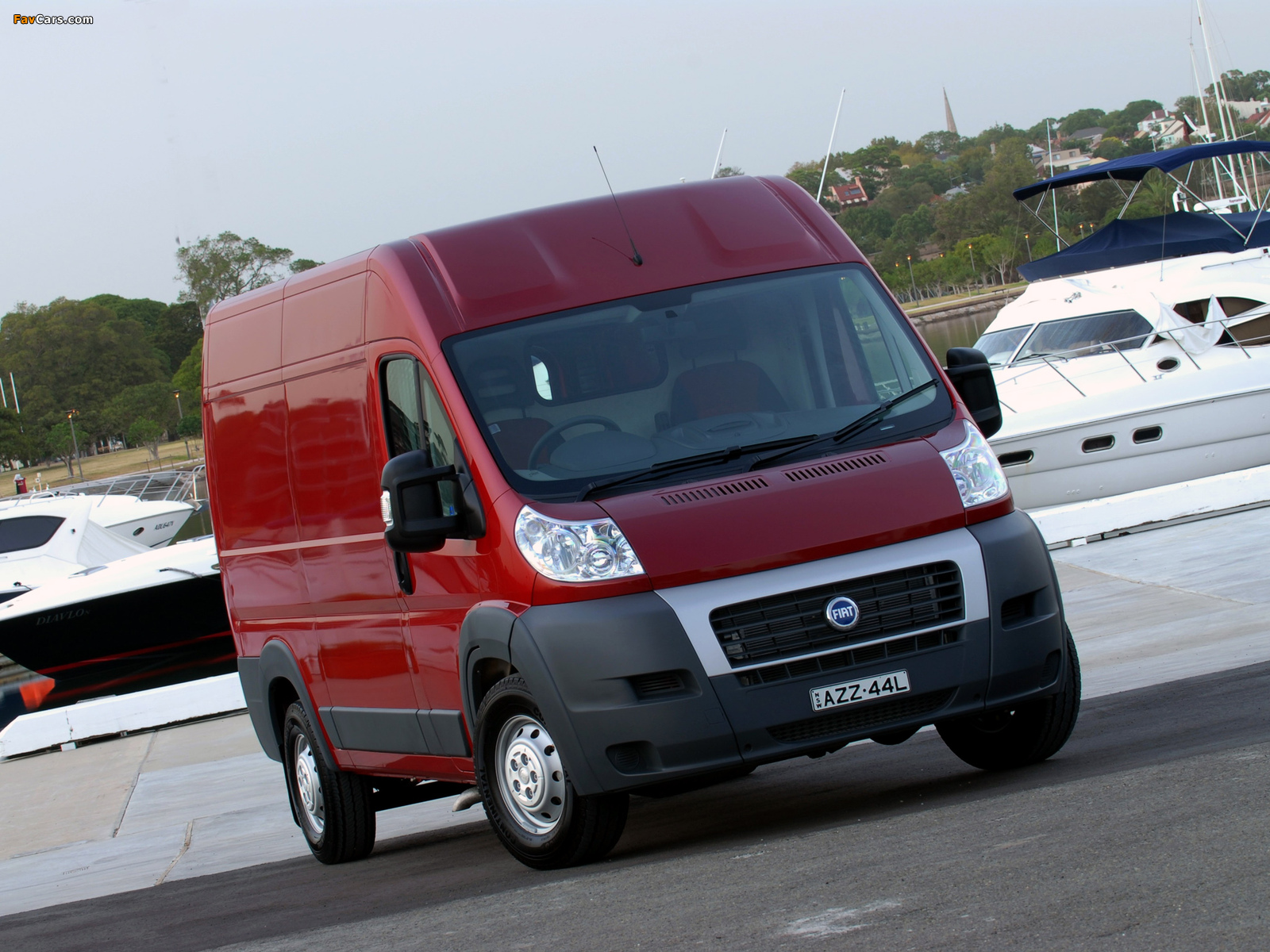 Fiat Ducato Van AU-spec 2006 photos (1600 x 1200)